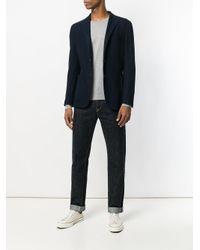 John Smedley - Gray Ponza Knit Sweater for Men - Lyst