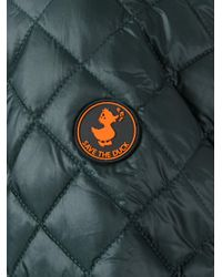 Save The Duck - Green Quilted Jacket for Men - Lyst