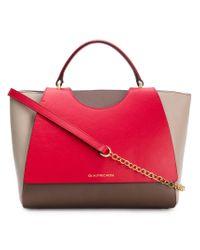 L'Autre Chose - Red Tri-colour Chain Strap Bag - Lyst