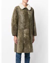 Sofie D'Hoore - Green Cascade Shearling Coat - Lyst