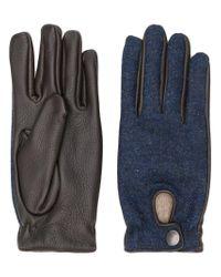 Lardini - Blue Gefütterte Handschuhe for Men - Lyst