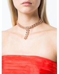 Oscar de la Renta - Multicolor Tassel Necklace - Lyst