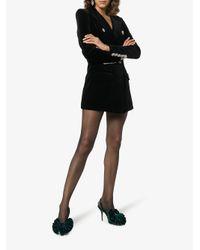 Alexandre Vauthier - Kate Green Velvet Sling Back Pumps - Lyst