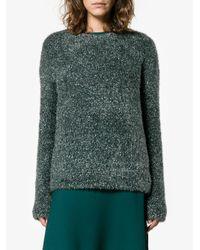 Sies Marjan - Blue Courtney Tinsel-knit Sweater - Lyst