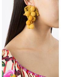 Rosie Assoulin - Multicolor Knit Grape Earrings - Lyst