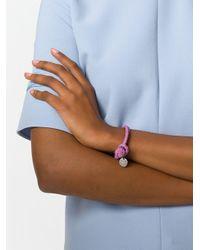 Bottega Veneta - Multicolor Twilight Intrecciato Nappa Bracelet - Lyst