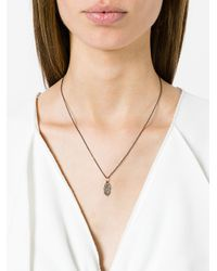 Ileana Makri - Metallic Fatima Hand Pendant Necklace - Lyst