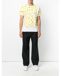Marni - White Printed T-shirt for Men - Lyst
