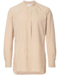 Lemaire - Natural Liquette Shirt for Men - Lyst