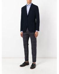 Canali - Blue Classic Shirt for Men - Lyst