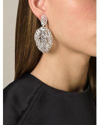 Aurelie Bidermann | Metallic 'vintage Lace' Earrings | Lyst