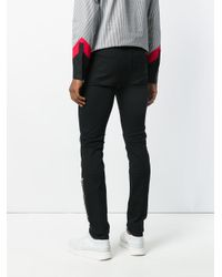 Givenchy - Black Zipped Trousers for Men - Lyst
