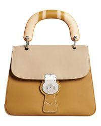 Burberry - Natural Medium Dk88 Top Handle Bag - Lyst