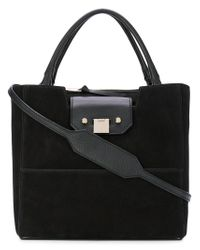 Jimmy Choo - Black Robin Tote Bag - Lyst