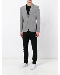 Giorgio Armani - Gray Classic Blazer for Men - Lyst