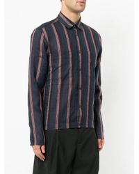 Cerruti 1881 - Blue Striped Shirt for Men - Lyst