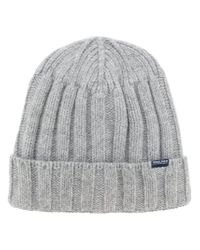 Woolrich - Gray Mckinley Beanie for Men - Lyst