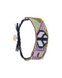 Venessa Arizaga - Multicolor Peace Symbol Bracelet - Lyst