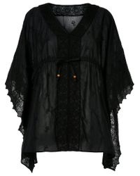 Hysteric Glamour - Black V Neck Tunic - Lyst