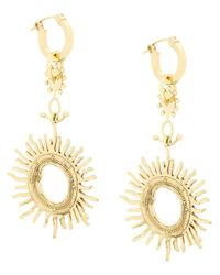 Ellery - Metallic Strangerland Large Sun Earrings - Lyst