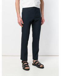 Jil Sander Blue Paolo Trousers for men