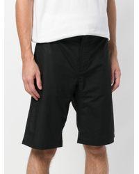 Maharishi - Black Embroidered Dragon Shorts for Men - Lyst