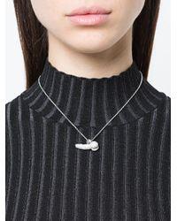Vivienne Westwood - Metallic Pan Pendant Necklace - Lyst