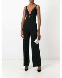 A.L.C. - Black Sleeveless Jumpsuit - Lyst