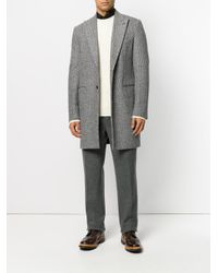 Roberto Collina - White Classic Knitted Sweater for Men - Lyst