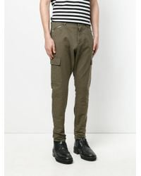 Unconditional - Green Drop Crotch Skinny Jeans for Men - Lyst