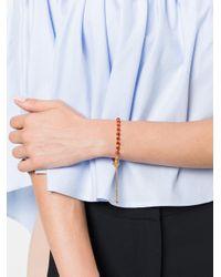 Astley Clarke - Multicolor Carnelian Super Kula Bow And Arrow Bracelet - Lyst