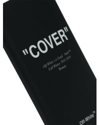 Off-White c/o Virgil Abloh - Black Quotes Iphone 8 Case - Lyst