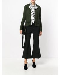Antonio Marras - Green Ribbed Trim Cardigan - Lyst