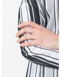 Astley Clarke - Metallic 'mini Moon Biography' Ring - Lyst