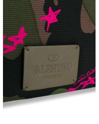 Valentino - Green Garavani Rockstud Laptop Sleeve for Men - Lyst