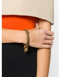 Bottega Veneta - Metallic Rope Bracelet - Lyst