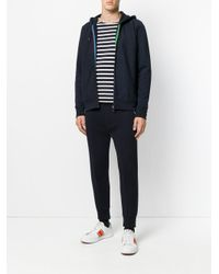 PS by Paul Smith - Blue Hooded Sweatshirt for Men - Lyst