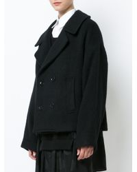 Y's Yohji Yamamoto - Black Shaggy Wool Jacket - Lyst