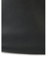 Shinola - Black Open Top Shoulder Bag - Lyst