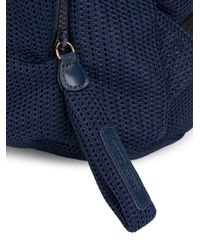 See By Chloé - Blue Multi-pocket Backpack - Lyst