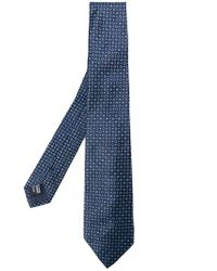 Giorgio Armani | Blue Patterned Tie for Men | Lyst