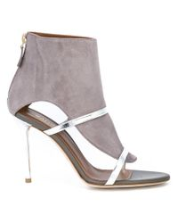 Malone Souliers - Gray Miley Sandals - Lyst
