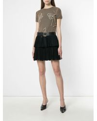 Y. Project - Multicolor Sheer Embellished T-shirt - Lyst