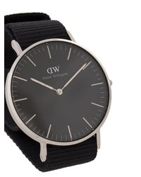 Daniel Wellington - Classic Black Cornwall Watch - Lyst