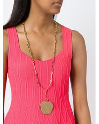 Aurelie Bidermann | Metallic Aurelie Long Necklace | Lyst