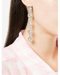 Ca&Lou - Metallic Drop Earrings - Lyst