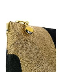 Anne Grand Clement - Metallic Sos Clutch Bag - Lyst