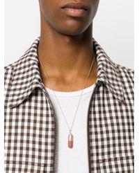 True Rocks - Metallic Large Pill Pendant Necklace for Men - Lyst