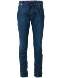 DIESEL - Blue Drawstring-waist Skinny Jeans - Lyst