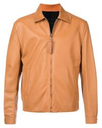 Loewe - Brown Chaqueta con cremallera for Men - Lyst
